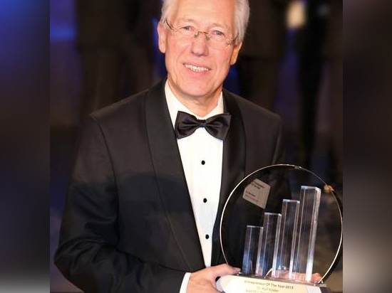 """Ralf Köster Gets the """"Entrepreneur Of The Year"""" Award"""