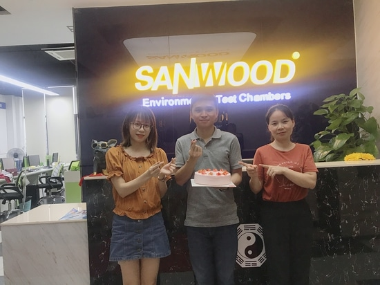 Sanwood Test Chamber held a birthday party