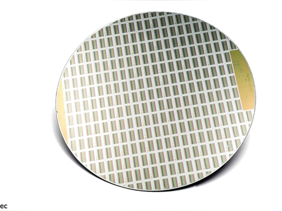 Figure 2: imec designs and manufacturers interference-based optical filters at wafer level, deposited and patterned directly on top of image sensor pixels to enable hyperspectral image acquisition.