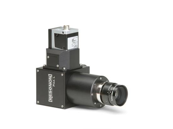 Figure 4: With a spectral range of 400 to 1000 nm, the Pika L hyperspectral camera measures just 3.9 x 4.9 x 2.2 inches and targets machine vision and remote sensing applications.