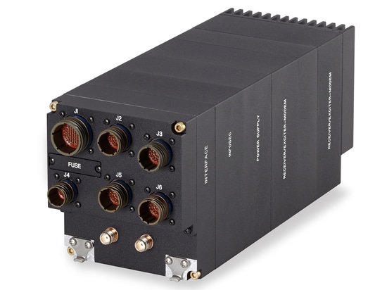 Targeting compact airborne networking solutions, this two-way radio merges existing hardware with new software techniques.