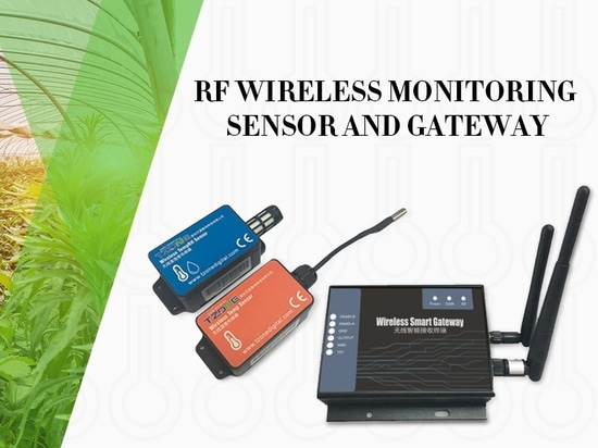 RF wireless temp (&RH) monitoring