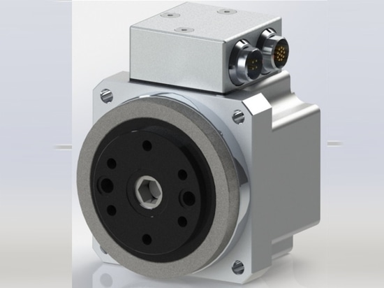Harmonic Drive FHA-C Mini 24V Servo Actuator with Dual Absolute Encoder and Panel Mount connectors