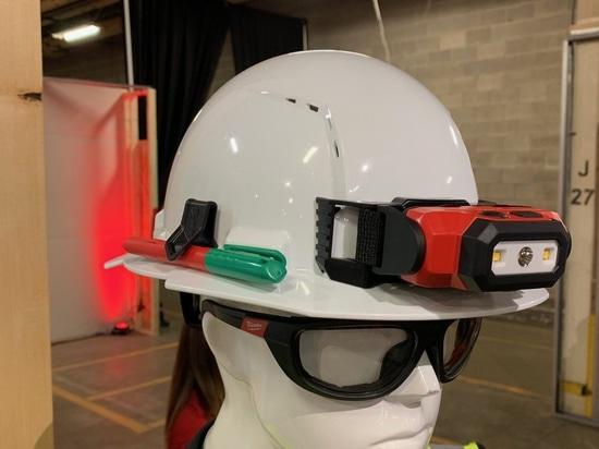 Clip-on headlamp