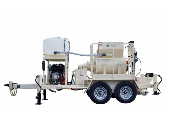 Adjust for speed, distance with new Blastcrete RS180 Mixer-Pump