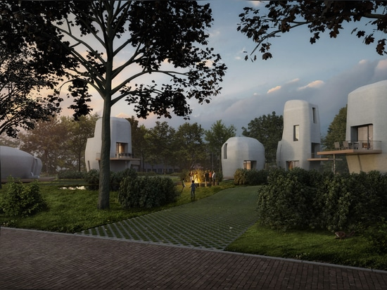 World's First 3D-Printed Concrete Housing Project to be Built in Eindhoven