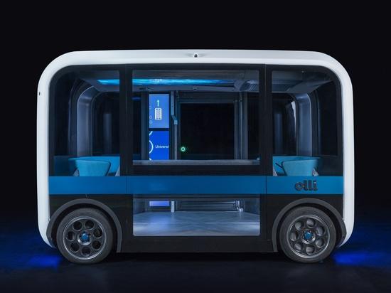 Meet Olli 2.0, a 3D-printed autonomous shuttle