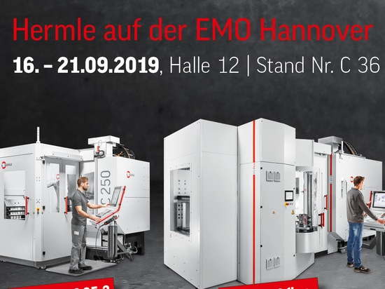 Hermle at the EMO 2019