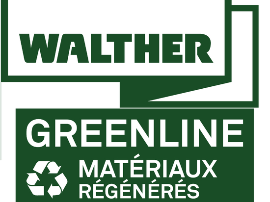 WALTHER takes advantage of Interseroh's new recycling materials