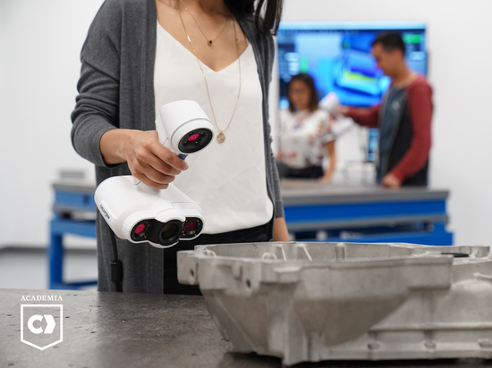 CREAFORM ADDS ACADEMIA 50 3D SCANNER TO ITS EDUCATIONAL SOLUTION SUITE