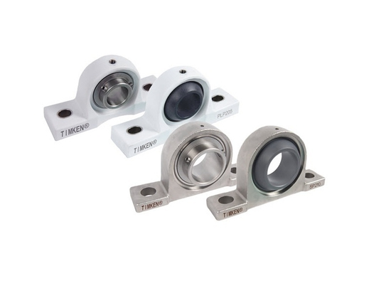 Corrosion-Resistant Ball Bearing Housed Units protect against a variety of wet and dry contaminants.