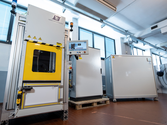 Automated magnetizing station