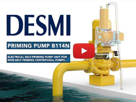 Video for the DESMI Priming Pump B114N