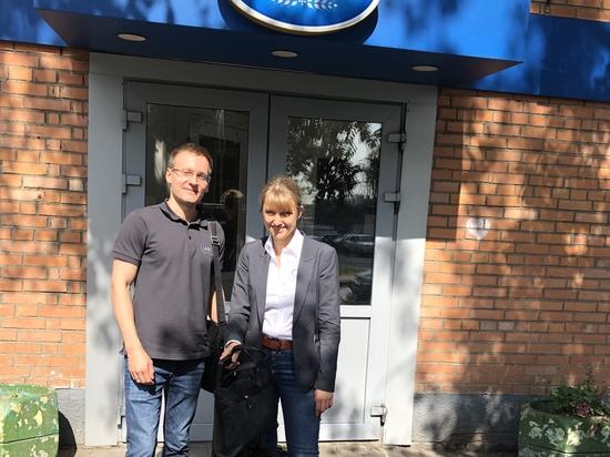 Alexandra Woloschin and Stanislav Biryukov from UWT