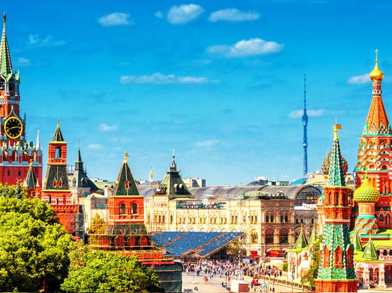 Moscow - a lot of breathtaking sights