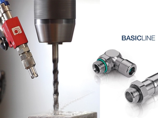Push-in fittings of the Eisele BASICLINE are ideal for compressed air, vacuum, gases and certain fluids. The blue coded sleeve prevents incorrect connection of the tubes