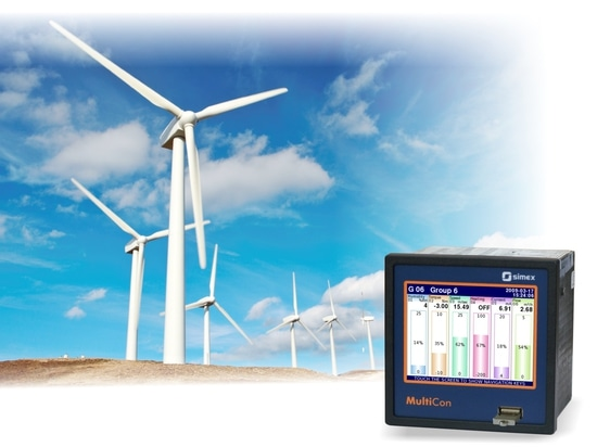 Application #7: MultiCon for electric energy measurements