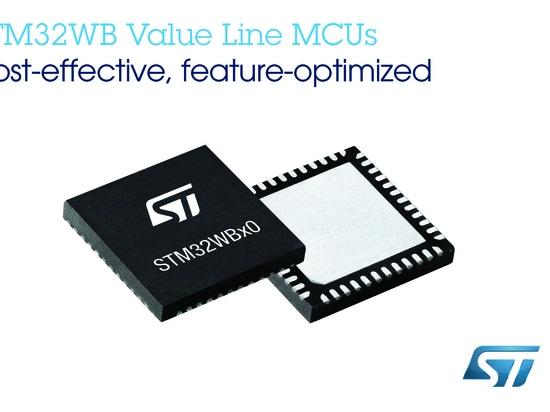 Wireless MCUs target inexpensive Bluetooth 5.0, Zigbee 3.0, OpenThread apps