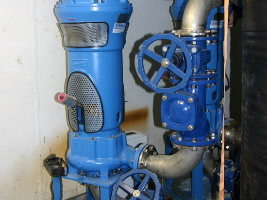 Egger Raw sewage pumps in Ulbersdorf