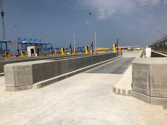 Macro installation in Port of Ghana