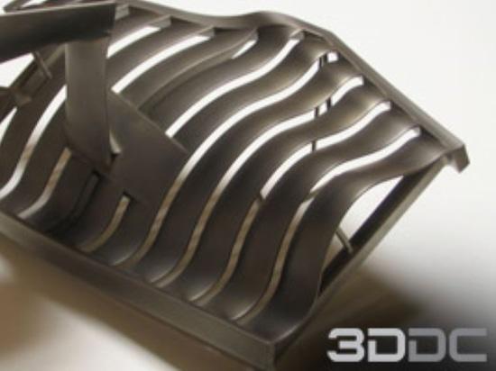 Metal coating of 3D printed parts by 3DDC