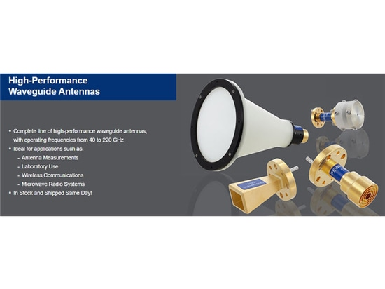 Pasternack Releases New Millimeter-wave Waveguide Antennas Up to 220 GHz