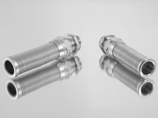 The new PERFECT cable gland with spiral top in sizes M16, M20 and M25.