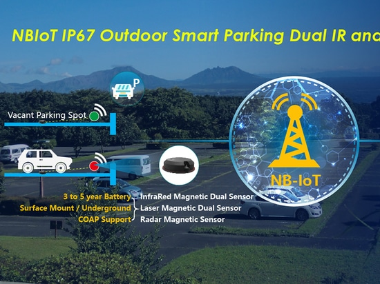 Experience Smart Parking Solution with the new NBIoT Parking Detection Sensor