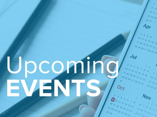 Upcoming events - January 2020
