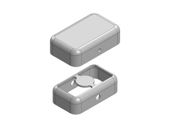 MS102-10 Two-piece Drawn-Seamless EMI/RFI Shield