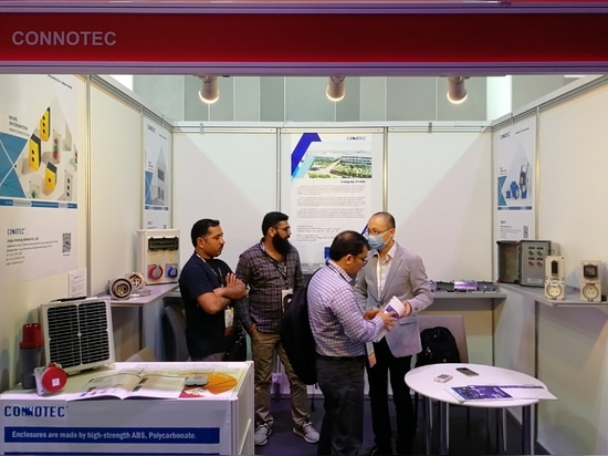 CONNOTEC successfully participated in Middle East Electricity 2020 in Dubai