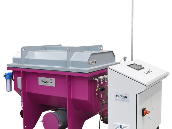 Thermal vacuum cleaning system VACUCLEAN from SCHWING Technologies