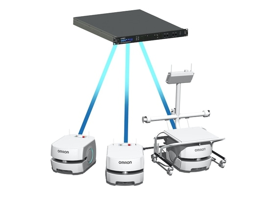 Omron launches new software for its mobile robots