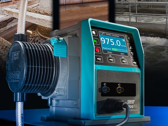 Qdos chemical metering pumps now offer four configurable outputs