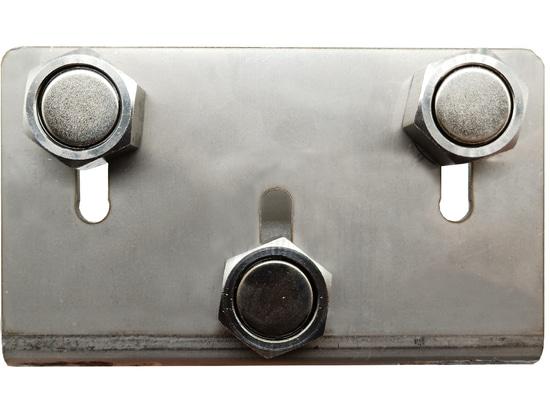 3 powerful NdFeB magnet screws