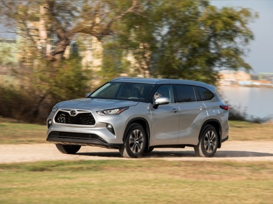 The Huntsville plant makes engines for popular Toyota vehicles like the Toyota Highlander 2020