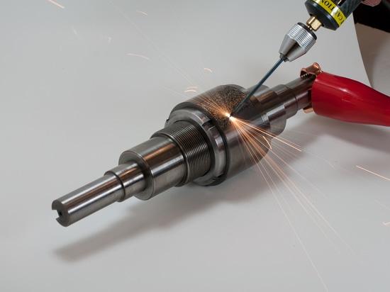 The Rocklinizer Applying Tungsten Carbide
