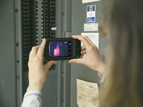 FLIR C5 thermal camera