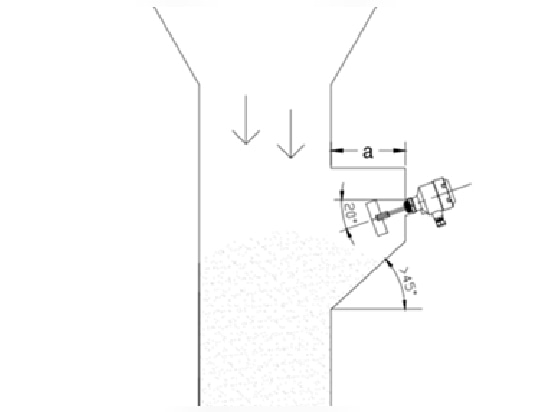 Fig.2 A silo with an alcove