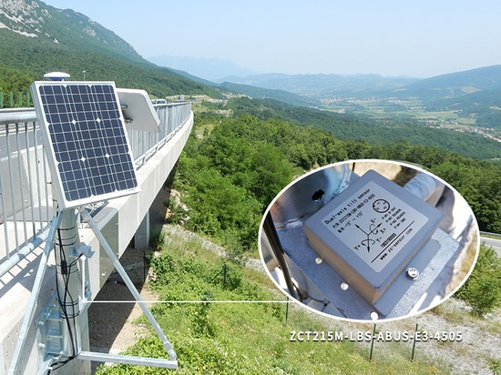 GIMS geographic monitoring system uses high-precision ZC solar tracking tilt sensors