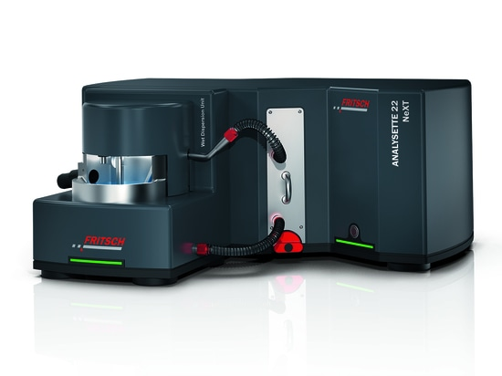 The Laser Particle Sizer ANALYSETTE 22 NeXT