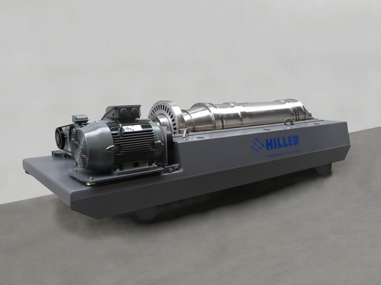 Hiller DP484 with lysate