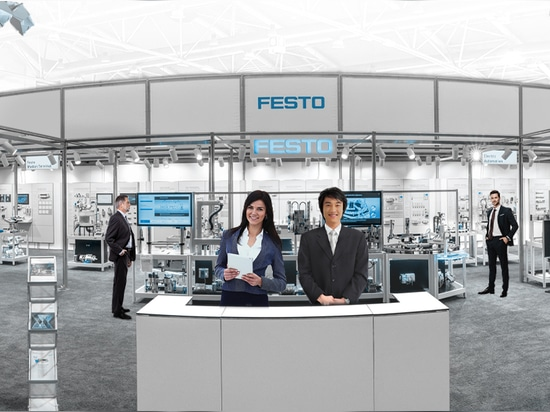 It is real! Experience the first Festo Virtual Exhibition | 15th and 16th July 2020