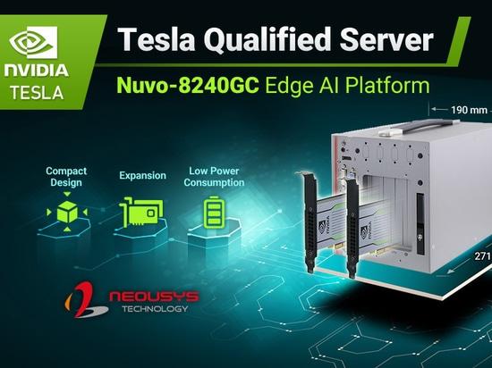 Neousys Nuvo GC GPU Computing Platform Acquires NVIDIA Tesla Server Qualification