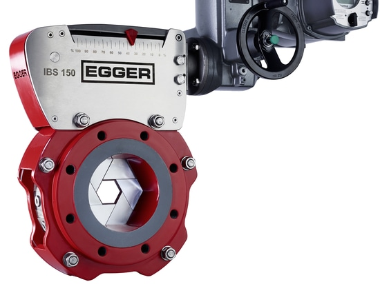The new Egger IBS Diaphragm Control Valve