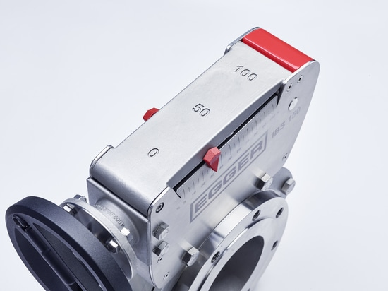 Spindel actuator of the new IBS flow control valve