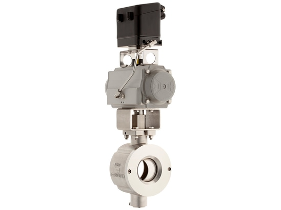 KS2 - High-Precision valve for abrasive media now also suitable for steam applications