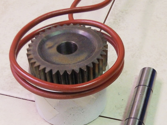Shrink fitting with induction heating