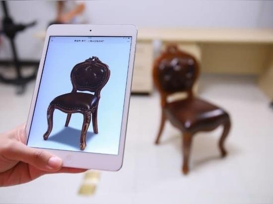 Enjoy 3D Virtual Shopping Furniture With EinScan Pro 2X