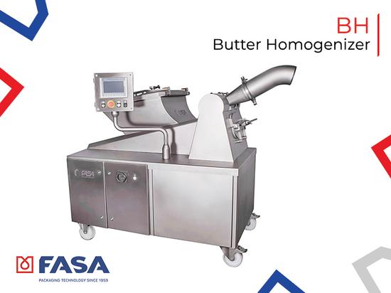 Butter homogenizer